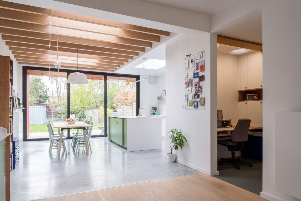 Woning KN Mortsel - Overgang bestaand naar nieuw - PAEN Architectuur